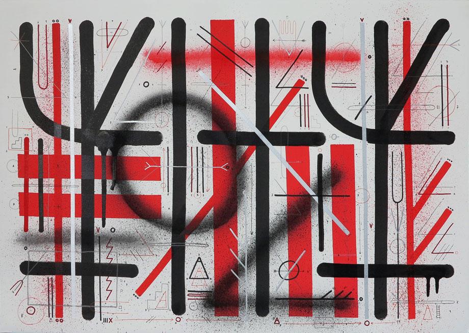 Sixe Paredes Sixeart street art