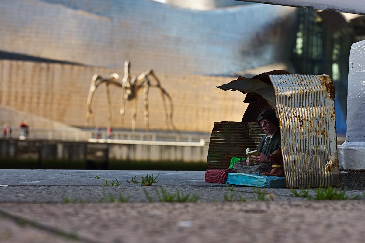"""american dream"" Photograph 100 X 70cm. Bilbao. 2017"